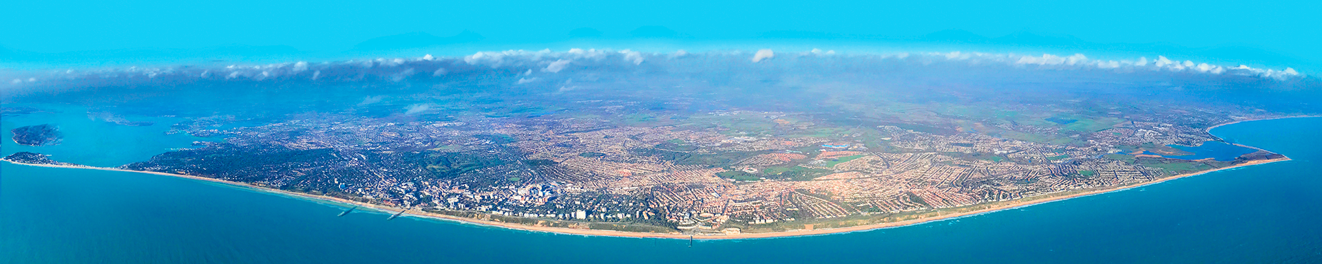 Aerial Image of the BCP area coastline